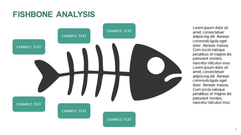fishbone analysis project management diagram templates