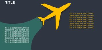 Aeroplane PowerPoint Template