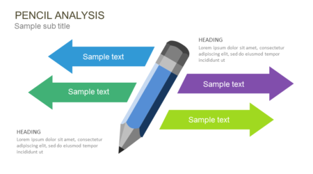 Pencil Analysis PowerPoint template