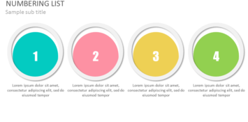 Numbering PowerPoint Template