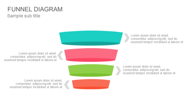 Funnel diagram PowerPoint Template