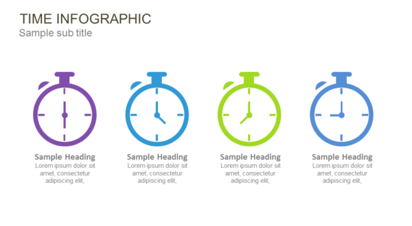 Time Infographic PowerPoint Template