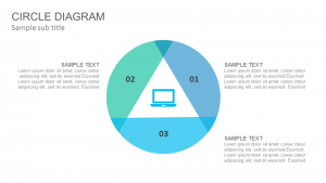 Circle diagram PowerPoint Template