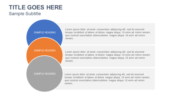 Circle List PowerPoint Template