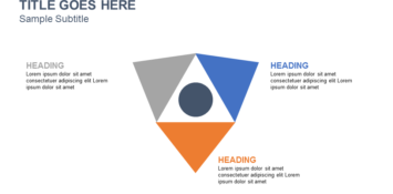 Triangle Powerpoint template